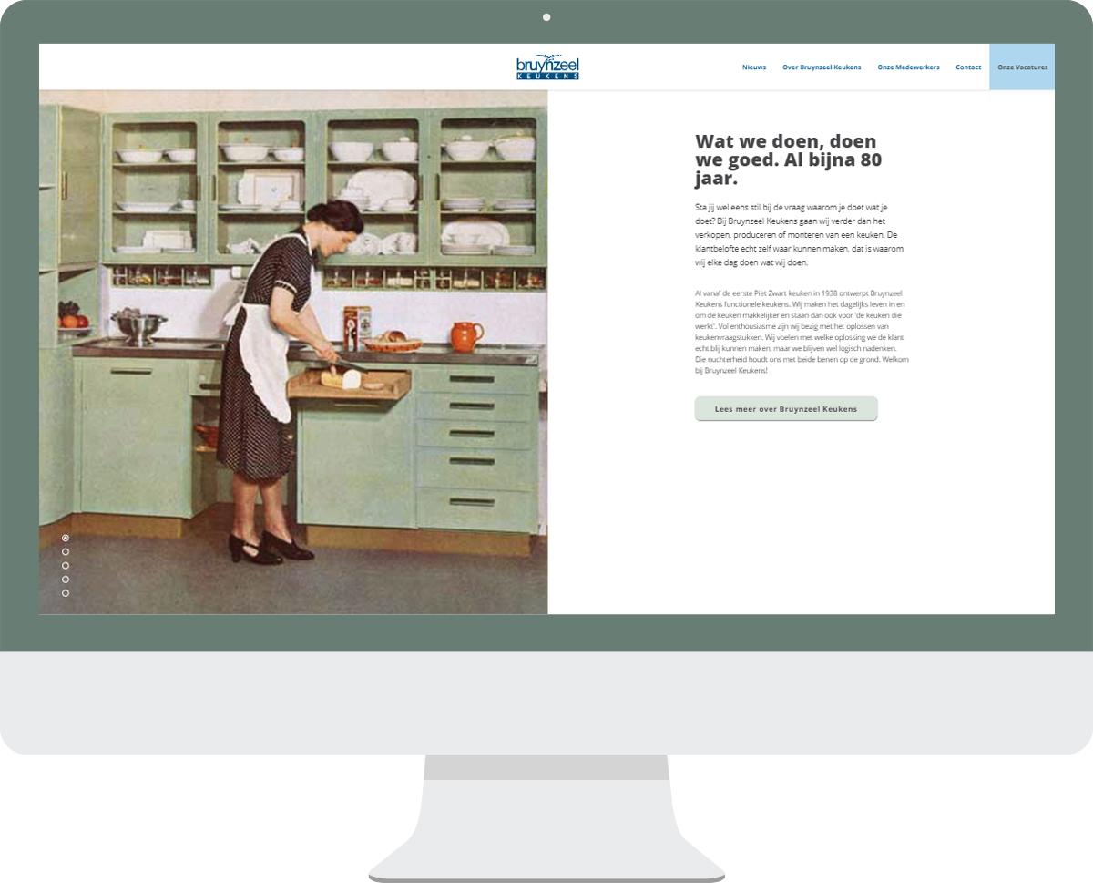 Bruynzeel keukens recruitment door sedna software developement