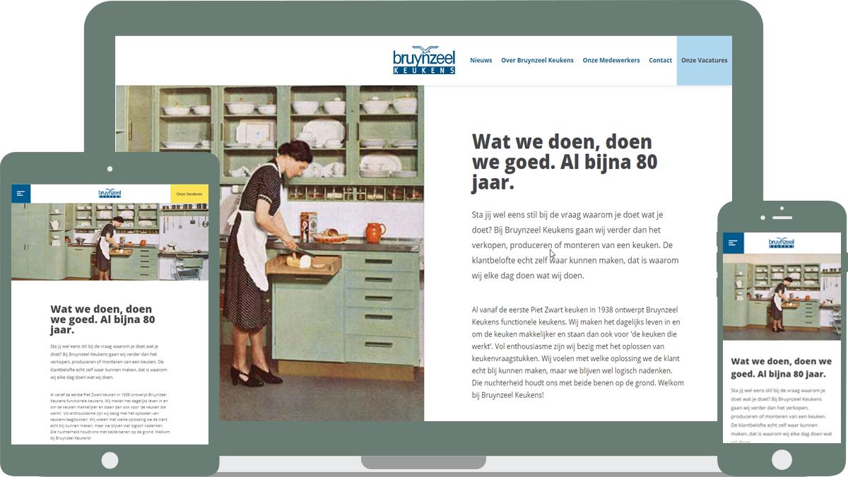Bruynzeel keukens recruitment door sedna software